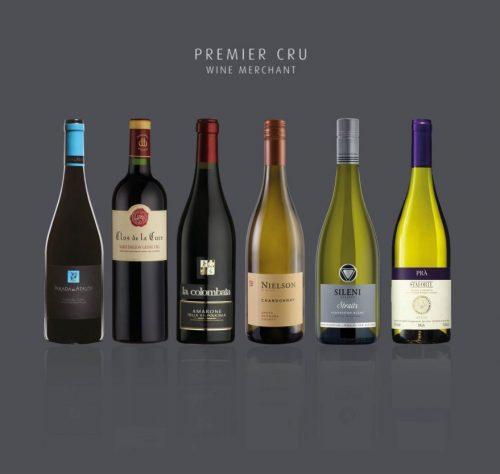 premier cru mixed wine case