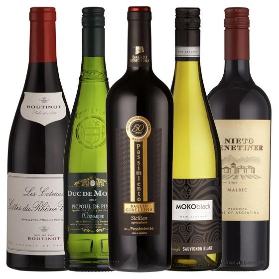 £109 Mixed Wine Case
